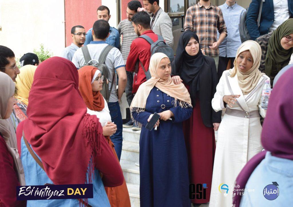 Mentoring students at Imtiyaz Day